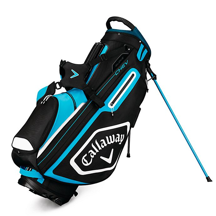 Alternate image 1 for Callaway® Chev Stand Golf Bag in Black/Blue