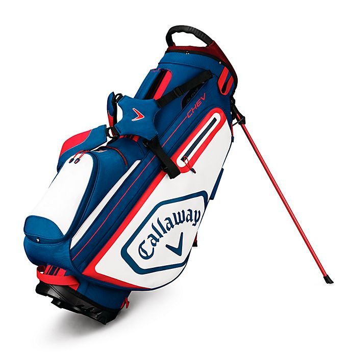 Alternate image 1 for Callaway® Chev Stand Golf Bag in Navy/White