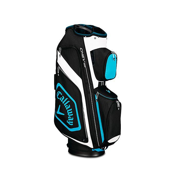 Alternate image 1 for Callaway® Chev Org Cart Golf Bag in Black/Blue