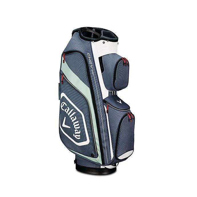Alternate image 1 for Callaway® Chev Org Cart Golf Bag in Titanium