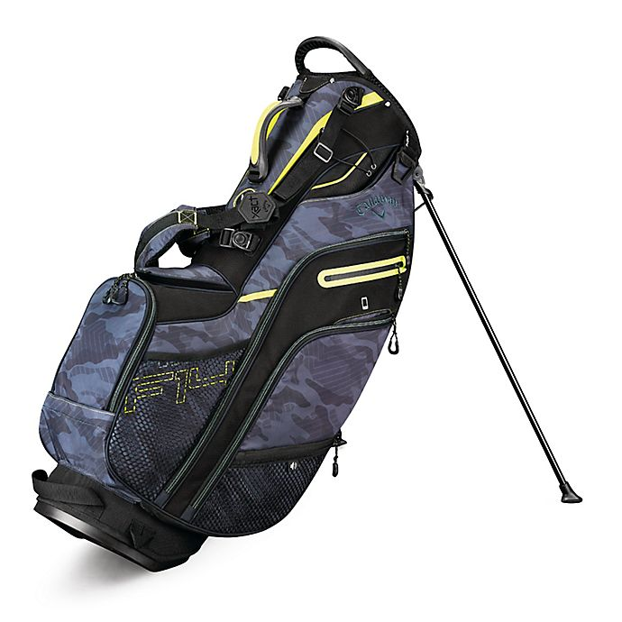 Alternate image 1 for Callaway® Fusion 14 Stand Golf Bag in Black/Yellow