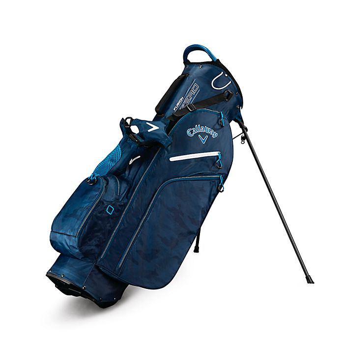 Alternate image 1 for Callaway® Fusion Zero Stand Golf Bag in Navy