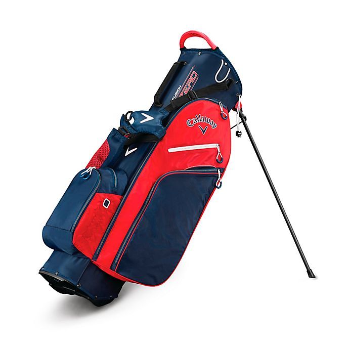 Alternate image 1 for Callaway® Fusion Zero Stand Golf Bag in Navy/White