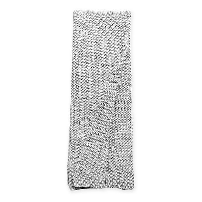 Alternate image 1 for Amity Home Gillian Throw Blanket in Grey