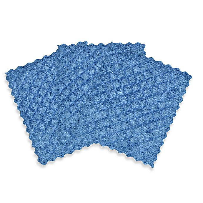 quilted dish cloth - 3-pack   bed bath and beyond canada