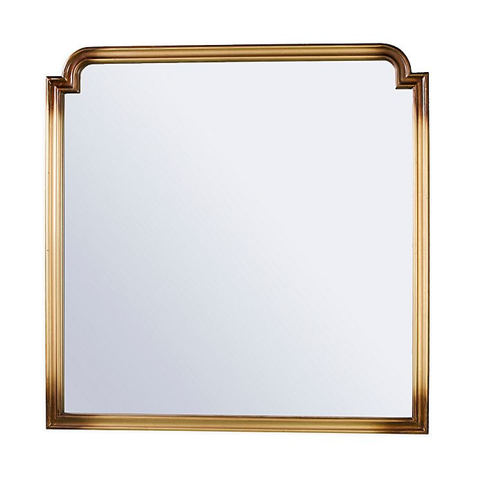 Alternate image 1 for Southern Enterprises© Lydia 36-Inch Square Wall Mirror in Gold