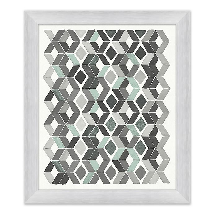 Alternate image 1 for Blue and Grey II 23.5-Inch x 27.5-Inch Framed Wall Art
