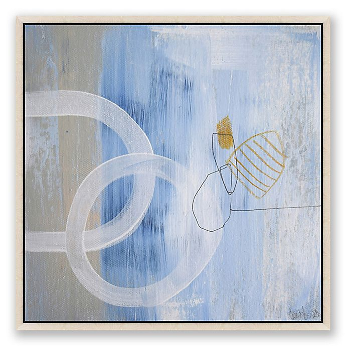 Alternate image 1 for Art on the Brain 8 24-Inch Square Framed Canvas Wall Art