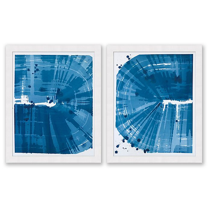 Alternate image 1 for Phthalo 25.5-Inch x 31.5-Inch Framed Diptych Wall Art (Set of 2)