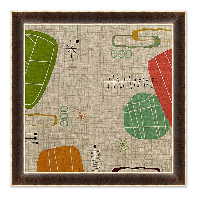 Alternate image 1 for Abstract IV 27.5-Inch Square Paper Framed Print Wall Art