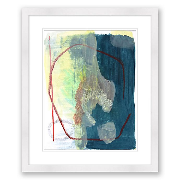 Alternate image 1 for Color and Shape 5 20-Inch x 24-Inch Framed Wall Art