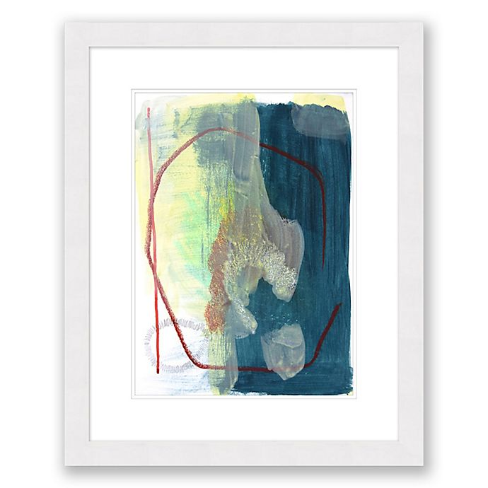 Alternate image 1 for Color and Shape 5 25.5-Inch x 31.5-Inch Framed Wall Art