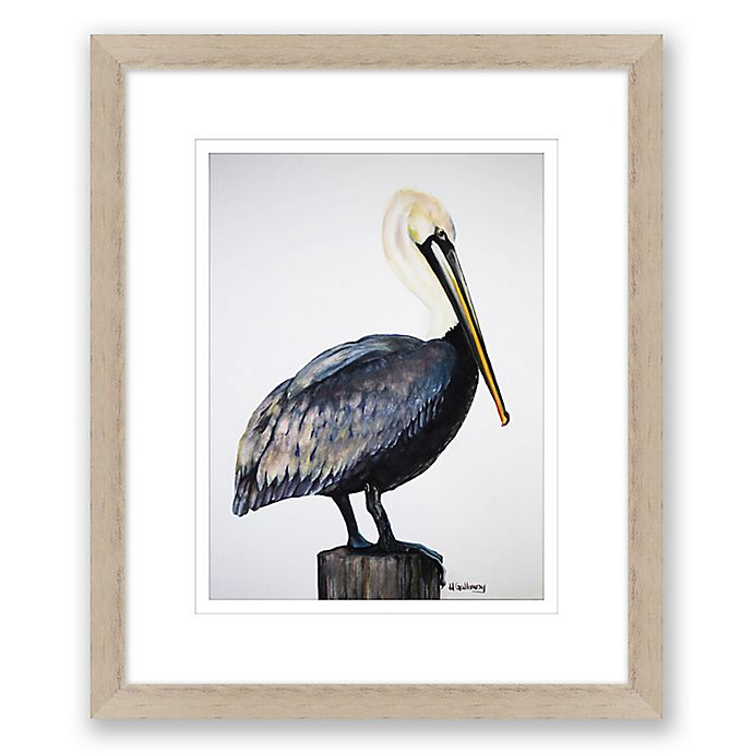 Alternate image 1 for Pelican 25-Inch x 20-Inch Framed Print Wall Art