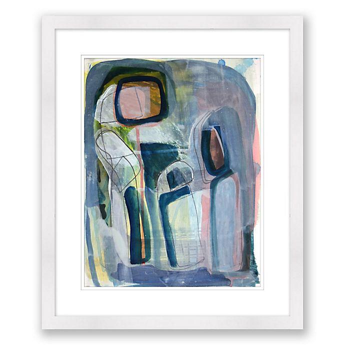 Alternate image 1 for Abstract Paper Framed Print