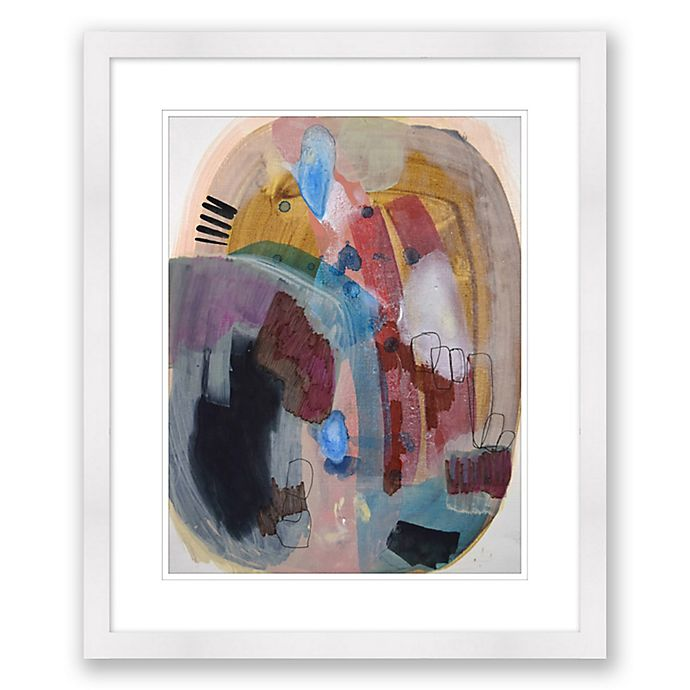 Alternate image 1 for Color & Shape 1 20-Inch x 24-Inch Abstract Framed Paper Print