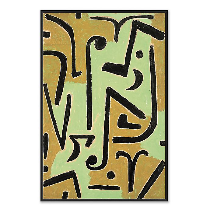 Alternate image 1 for Abstract Midcentrury 26.75-Inch x 38.75-Inch Framed Canvas Wall Art
