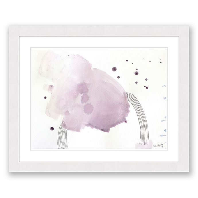 Alternate image 1 for Paper Moons 2 25.5-Inch x 31.5-Inch Abstract Framed Print Wall Art