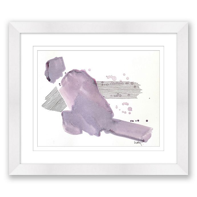 Alternate image 1 for Paper Moons 1 17-Inch x 20-Inch Abstract Framed Print Wall Art