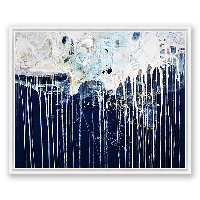 Alternate image 1 for State of Flow Abstract 40-Inch x 30-Inch Canvas Framed Wall Art