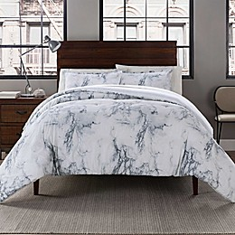 Garment Washed Printed Comforter Set