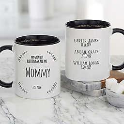 My Greatest Blessings Call Me 11 oz. Coffee Mug in Black