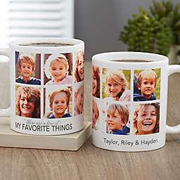 My Favorite Things Personalized 11 oz. Coffee Mug