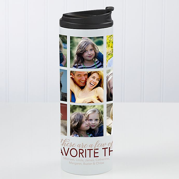Alternate image 1 for My Favorite Things Personalized 16oz. Travel Tumbler