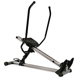 Sunny Health & Fitness SF-RW5720 Incline Slide Rower in Grey