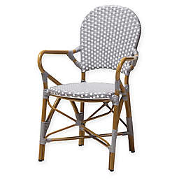 Baxton Studio Deena All-Weather Chairs (Set of 2)