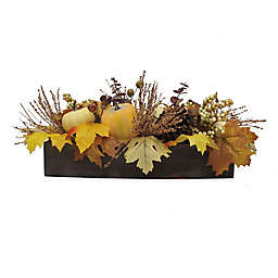 Bee & Willow™ Home 22-Inch Harvest Floral in Wood Box