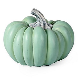 Bee & Willow™ Home 12-Inch Tabletop Pumpkin in Teal