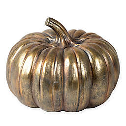 Bee & Willow™ Home 12-Inch Tabletop Pumpkin in Gold