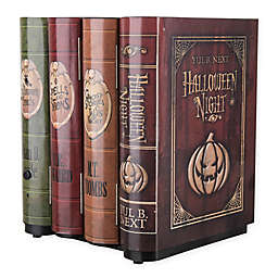 Gemmy Animated Moving Books Multicolor Halloween Decoration