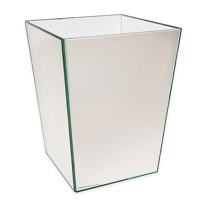 Alternate image 1 for Crystal Mirror Boutique Wastebasket