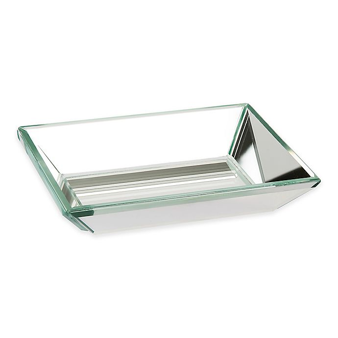 Alternate image 1 for Crystal Mirror Boutique Soap Dish