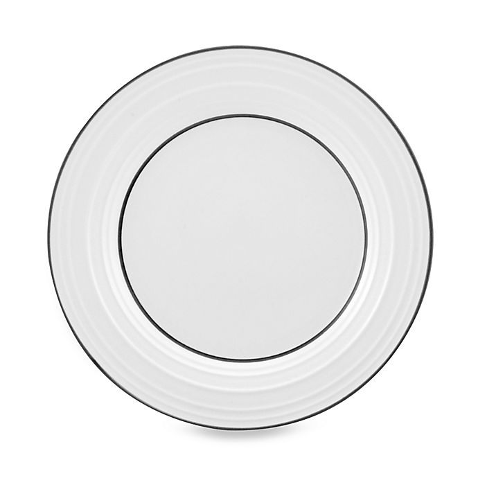 Alternate image 1 for Mikasa® Swirl Banded Salad Plate