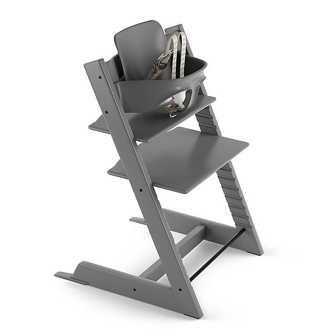 Alternate image 1 for Tripp Trapp® High Chair in Storm Grey