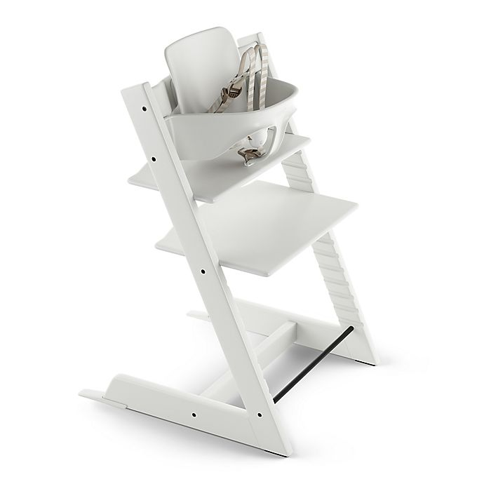 Alternate image 1 for Tripp Trapp® High Chair in White