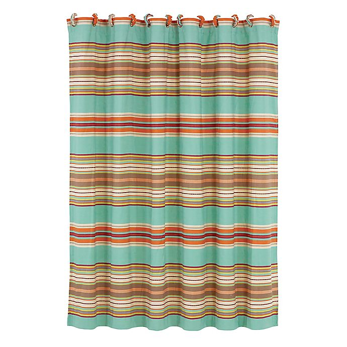 Alternate image 1 for HiEnd Accents Serape Shower Curtain