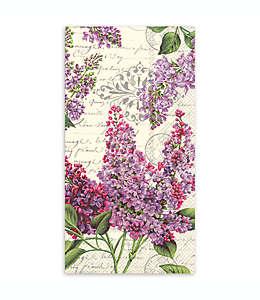 Toallas desechables de papel, Lilac Letter 32 piezas