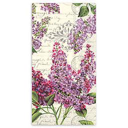 Lilac Letter 32-Count Paper Guest Towels