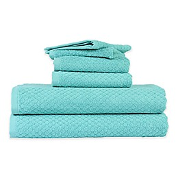 Peach and Oak Solid Bath Towel Collection
