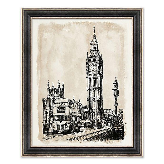 Alternate image 1 for Big Ben 26.25-Inch x 32.25-Inch Framed Wall Art