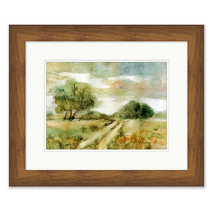 Alternate image 1 for Rustic Field 1 19.5-Inch x 23.5-Inch Framed Wall Art