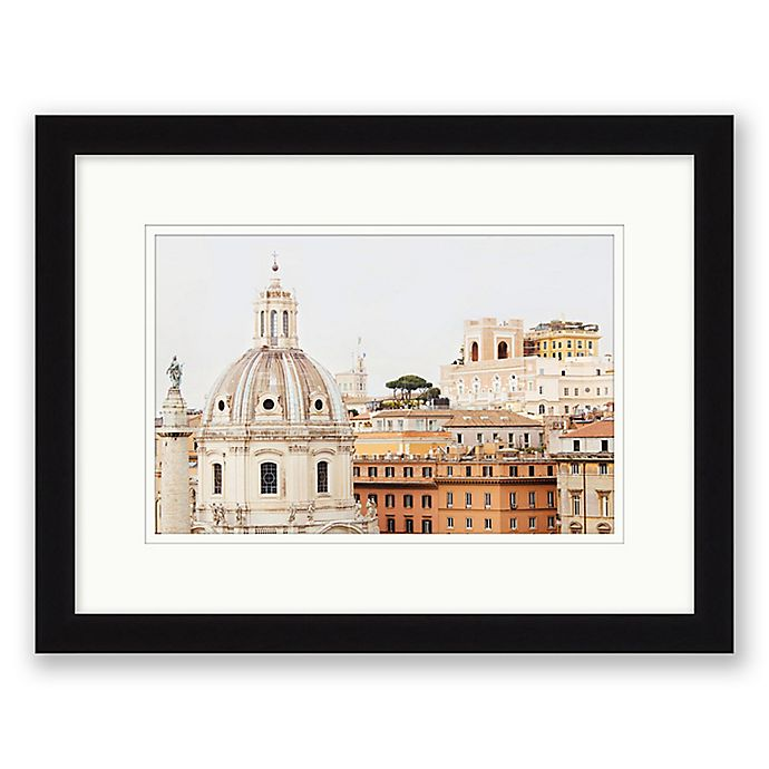Alternate image 1 for Roma 17.5-Inch x 13.5-Inch Framed Wall Art