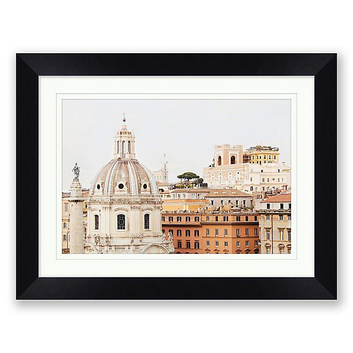 Alternate image 1 for Roma 27.5-Inch x 21.5-Inch Framed Wall Art