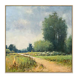 The Road Home 2 43.75-Inch Square Framed Canvas Wall Art