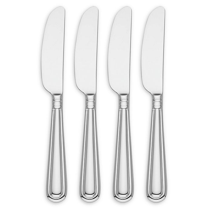 Alternate image 1 for Reed & Barton August Cheese Spreaders (Set of 4)