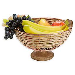 Mind Reader Small Fruit Basket in Pink