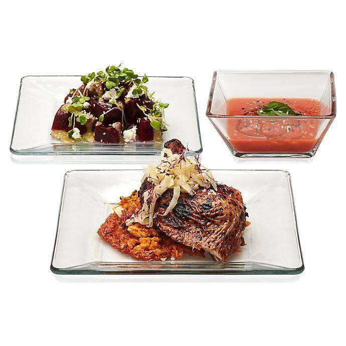 Alternate image 1 for Libbey® Tempo 12-Piece Dinnerware Set